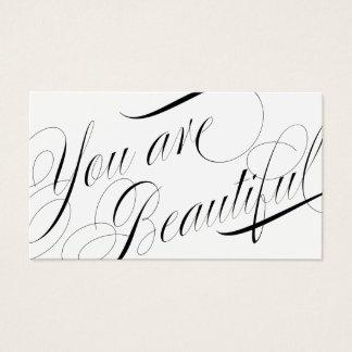 Cartes De Visite Rendez-vous élégant de styliste de beauté de