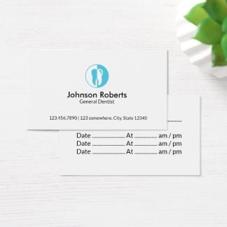 Fabuleux Cartes de visite Chirurgien Dentiste personnalisées | Zazzle.fr LT66