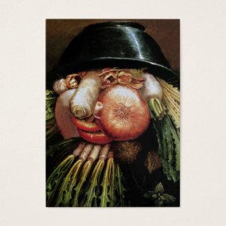 Cartes De Visite Restaurant végétarien, ferme organique, nourriture