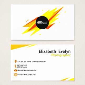 Cartes De Visite résumé jaune 001