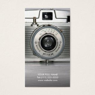 Cartes De Visite Rétro appareil-photo vintage