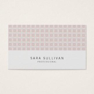 Cartes De Visite Rétro professionnel BusinessCard de grille de