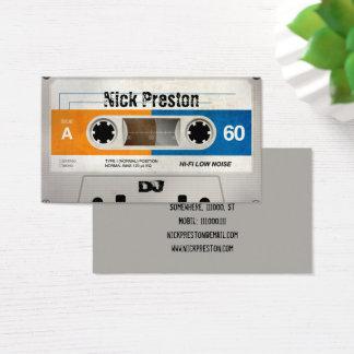 Cartes De Visite Rétro professionnel frais de la cassette audio  
