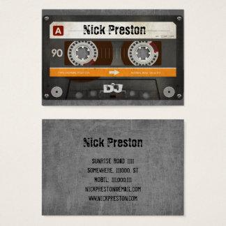Cartes De Visite Rétro professionnel frais de la cassette audio |