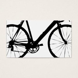 Cartes de visite rigides de bicyclette