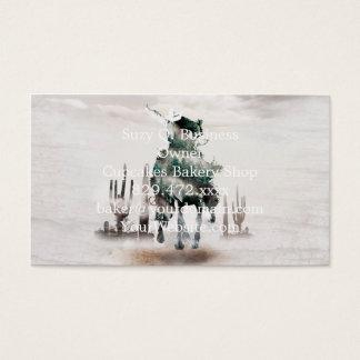 Cartes De Visite Rodéo - double exposition - cowboy - cowboy de
