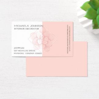 Cartes De Visite Rose de camélia
