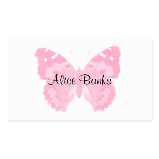 Cartes de visite roses de maquilleur d impression cartes de visite personnelles