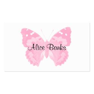 Cartes de visite roses de maquilleur d'impression  cartes de visite personnelles