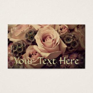 Cartes De Visite Roses roses