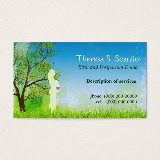 Cartes De Visite Sage Femme Doula Promenade Pre