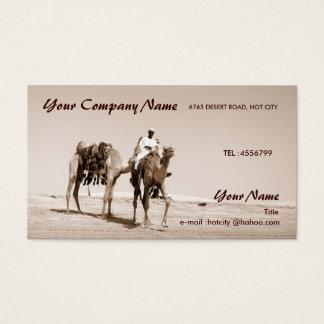Cartes De Visite Scène de désert
