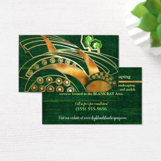 Cartes De Visite SERVICE de AMÉNAGEMENT d'ARBRE celtique des