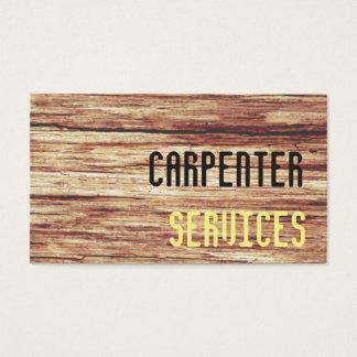 Cartes De Visite services de charpentier
