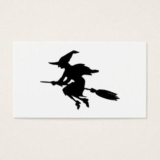 Cartes De Visite Silhouette de sorcière