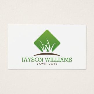 Cartes De Visite Soin moderne de pelouse/aménagement du logo I