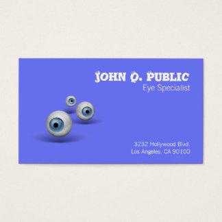 Cartes De Visite Spécialiste en oeil de globe oculaire