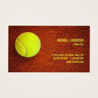 Cartes De Visite Sports d'entraîneur de tennis