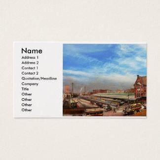Cartes De Visite Station de train - la référence 1889 de rue de