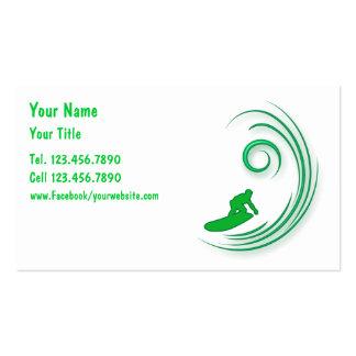 Cartes de visite surfants modèles de cartes de visite