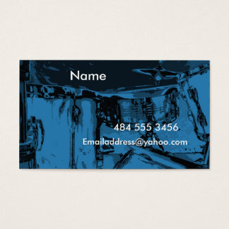 Cartes De Visite Tambours bleus