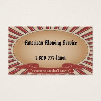 Cartes De Visite Tan americana