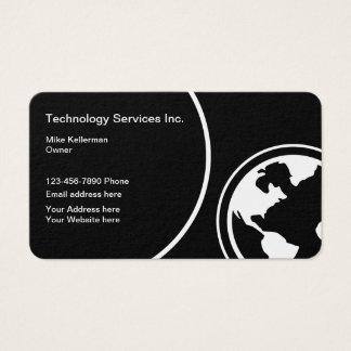 Cartes De Visite Technologie moderne Deisgn