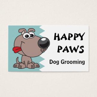 Cartes De Visite Toilettage, coupure ou marche de chien