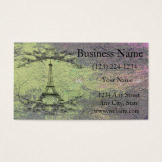 Cartes De Visite Tour Eiffel vintage