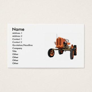 Cartes De Visite Tracteur vintage