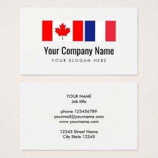 Cartes De Visite Traducteur anglais-français canadien de traduction