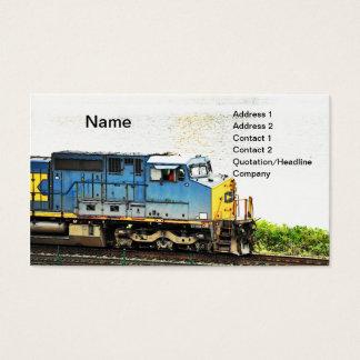 Cartes De Visite train diesel