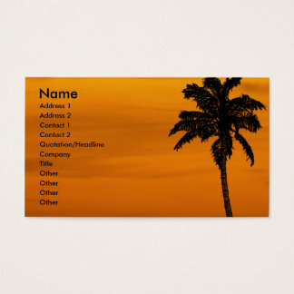 Cartes De Visite | tropical