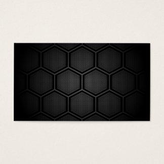 Cartes De Visite Tuiles de sortilège de fibre de carbone