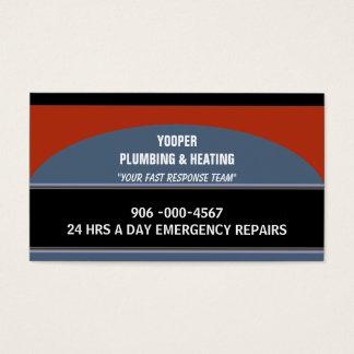 Cartes De Visite Tuyauterie et entretien et réparation à la maison