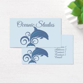 Cartes De Visite Un dauphin