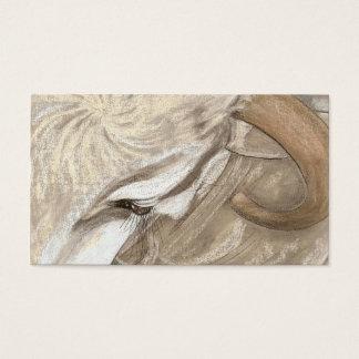 Cartes De Visite Une beauté de taureaux de Brama