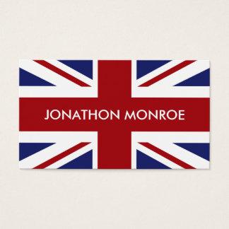 Cartes De Visite Union Jack, drapeau britannique, Royaume-Uni