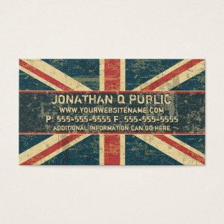 Cartes De Visite Union Jack sale