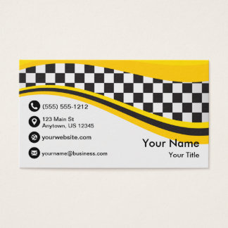 Cartes De Visite Vague de taxi