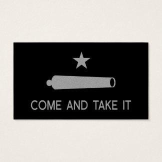 Cartes De Visite Venez il falloir le ~ le Texas de drapeau