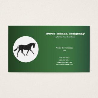Cartes De Visite Vente d'affaires de cheval