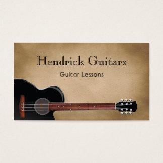 Cartes De Visite Ventes de guitare de leçons de guitare