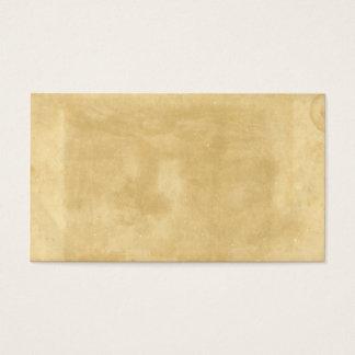 Cartes De Visite Vieux papier souillé âgé par cru vide