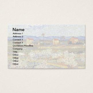 Cartes De Visite Vincent van Gogh - La Crau avec des pêchers