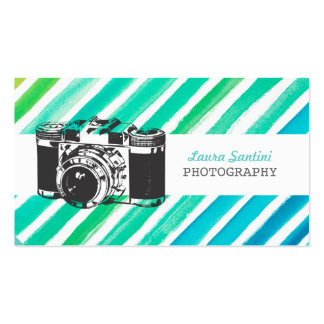 Cartes de visite vintages de photographe d'apparei modèles de cartes de visite