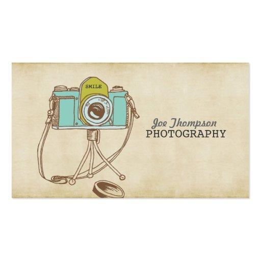 Cartes de visite vintages de photographe d'art d'a carte de visite