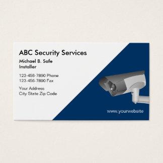 Cartes de visite visuels de sécurité