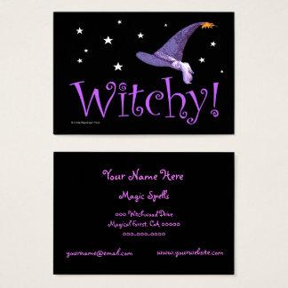 Cartes De Visite Witchy
