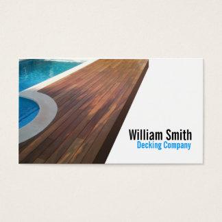 Cartes De Visite Wood Deck/Decking Contractor